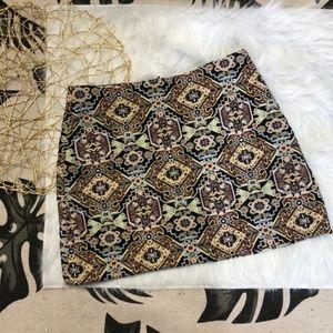 Zara Trafuluc Embroidered Skirt